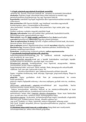 papillomatosis ritka)