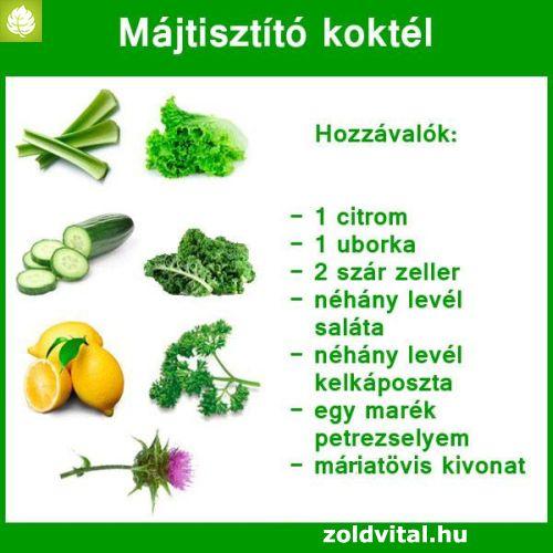 máj diéta receptek)