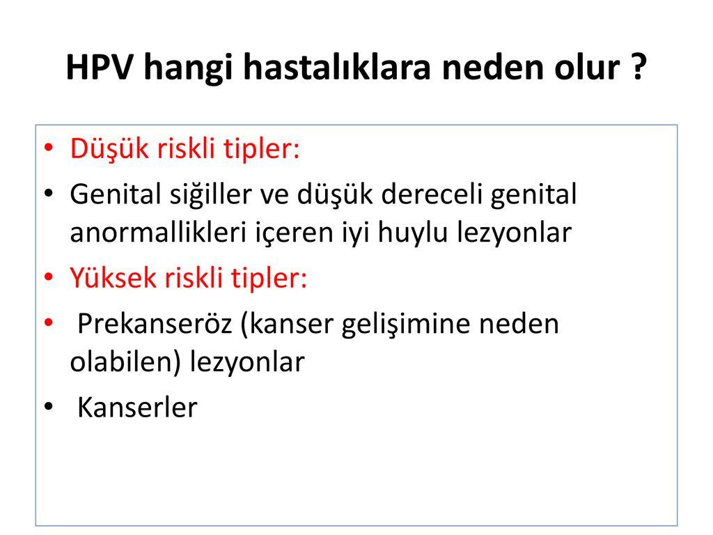 hpv tedavisi ppt)