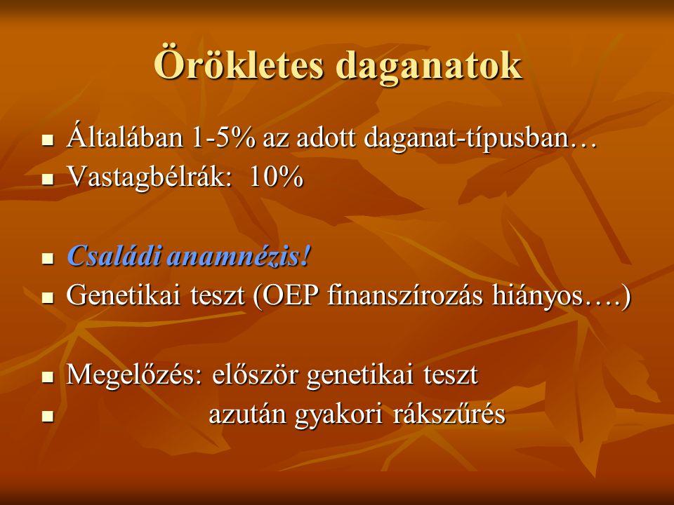 genetikai daganatok)
