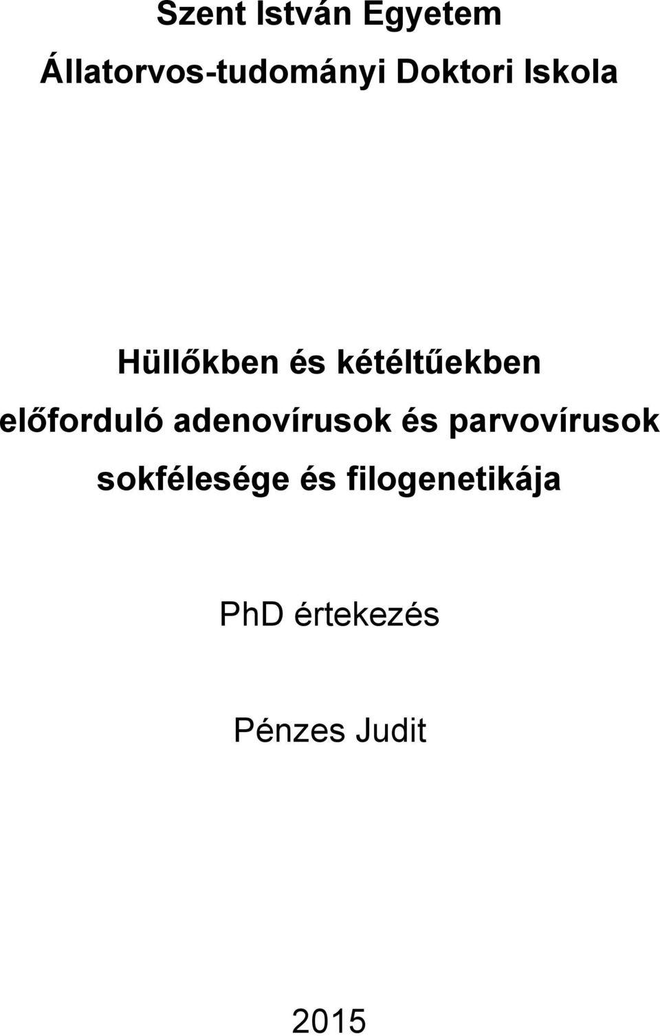 papillomavírus a kaméleonokban)