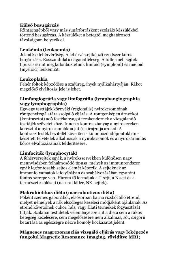 rák malignus vs jóindulatú)