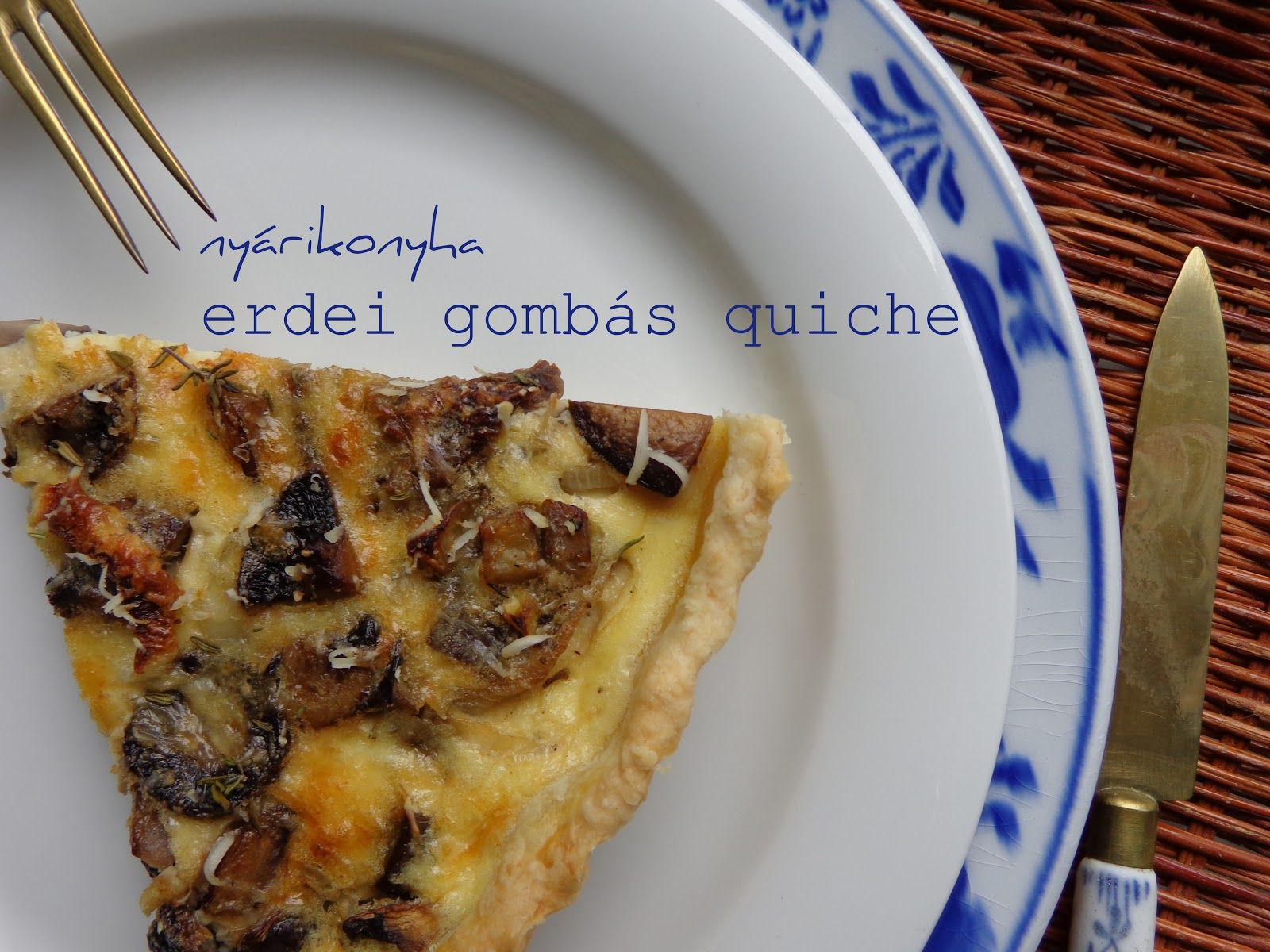 quiche gomba)