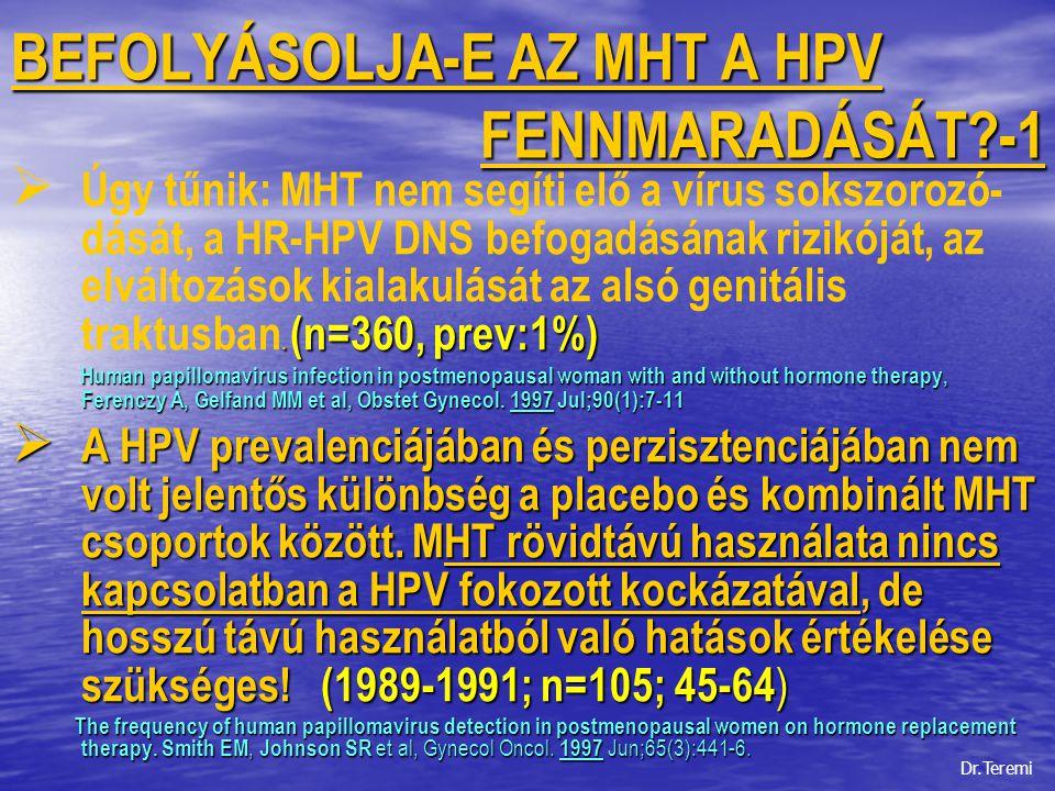 genitális hpv fertőzés hosszú távú hatások)