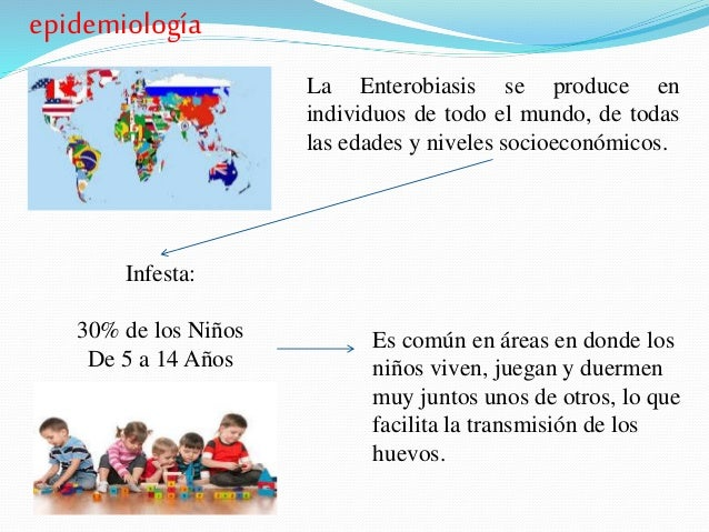 enterobiasis epidemiológia