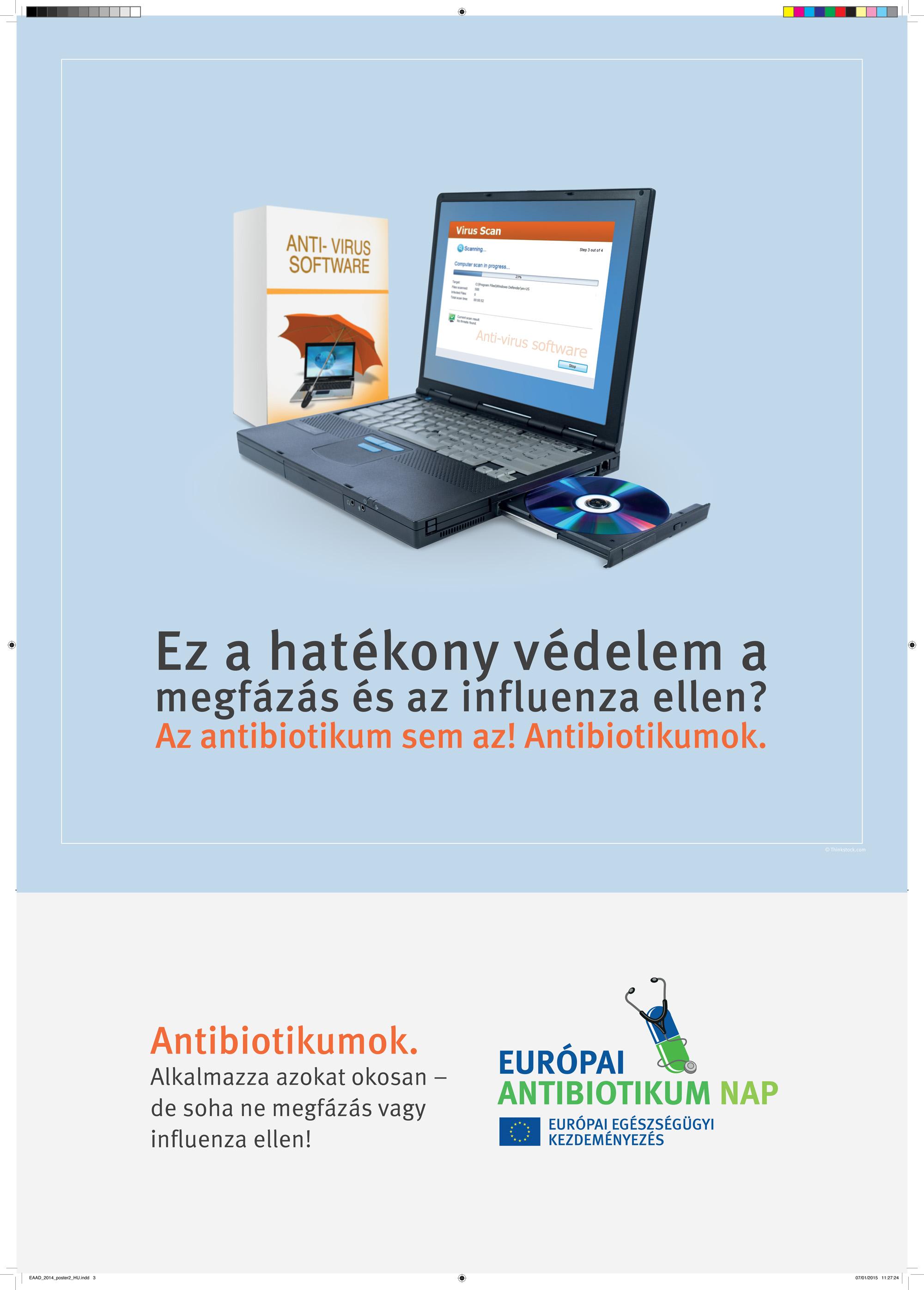 antibiotikus influenza