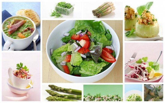 test méregtelenítő saláták